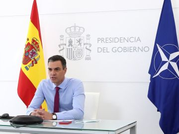 El jefe del Ejecutivo, Pedro Sánchez