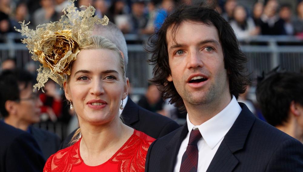 Kate Winslet y su marido Ned Rockandroll