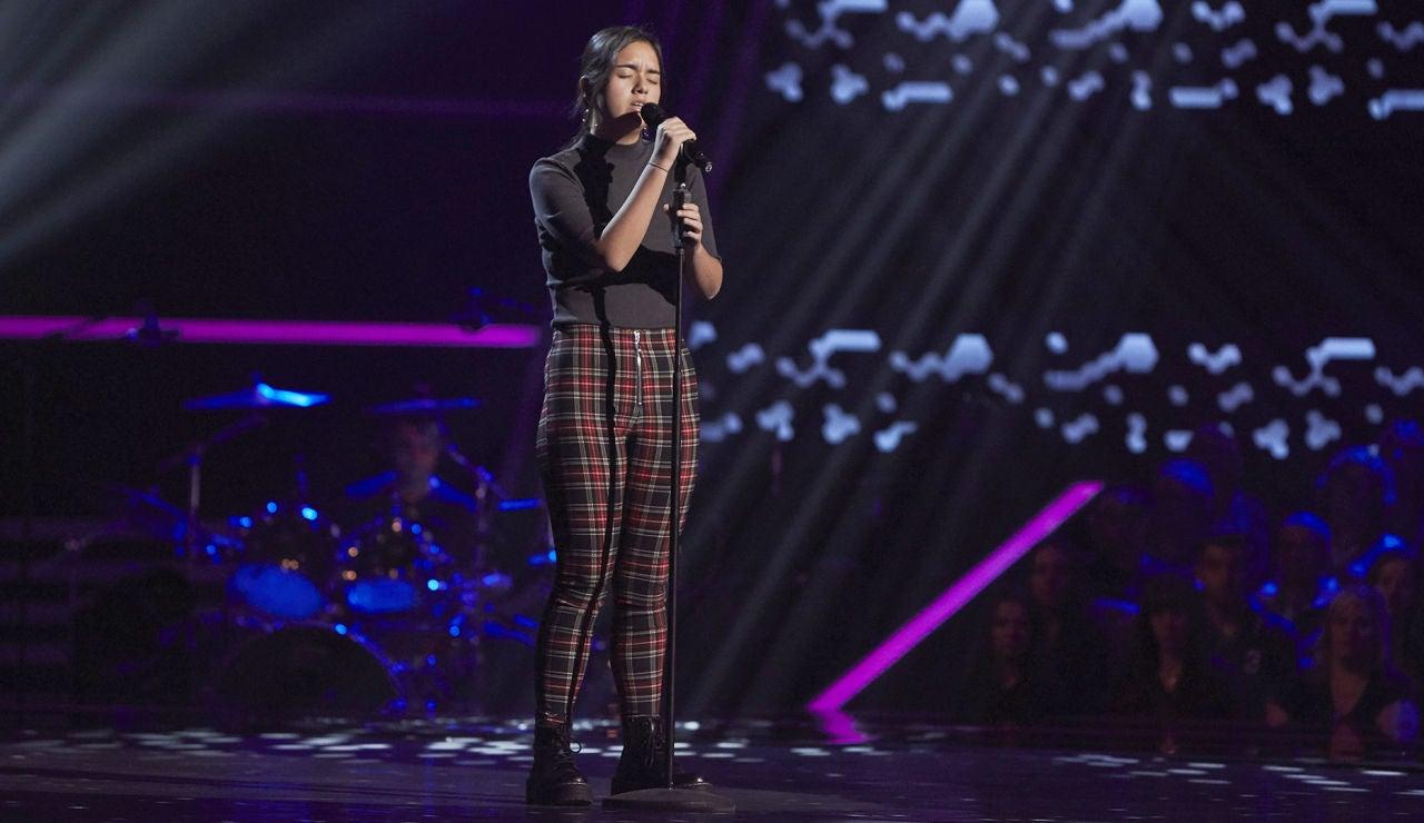 Sonia Castellanos canta 'La vie en rose' en las Audiciones a ciegas de 'La Voz Kids'