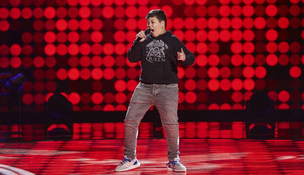 Xoel Tarín canta 'I feel good' en las Audiciones a ciegas de 'La Voz Kids'