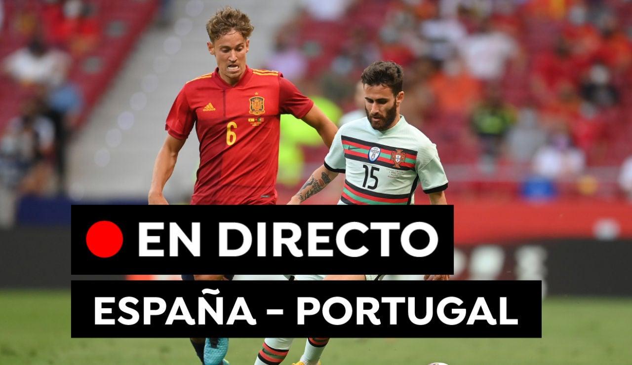 España - Portugal: Goles y resultado del partido de hoy de la previa a la Eurocopa 2021, en directo