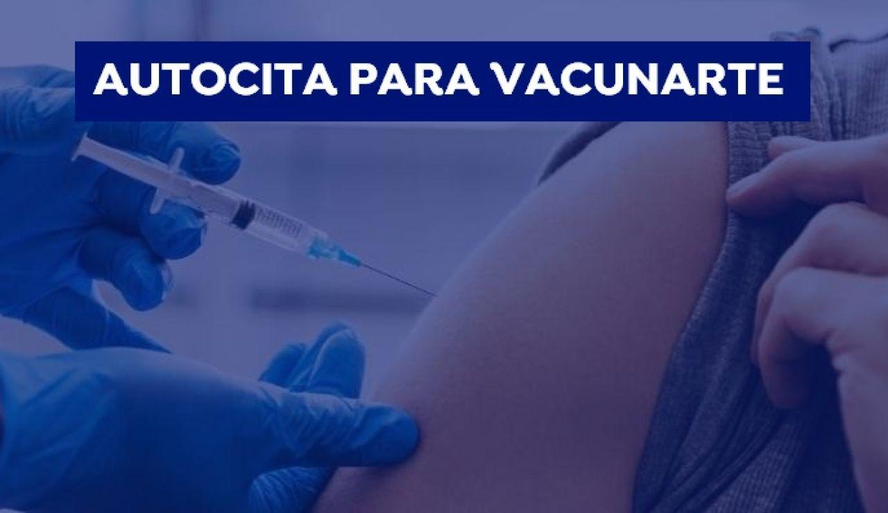 Cómo pedir la autocita para la vacunación contra la COVID