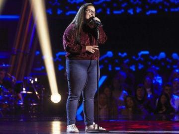 Candela Morales canta 'Soñar contigo' en las Audiciones a ciegas de 'La Voz Kids'