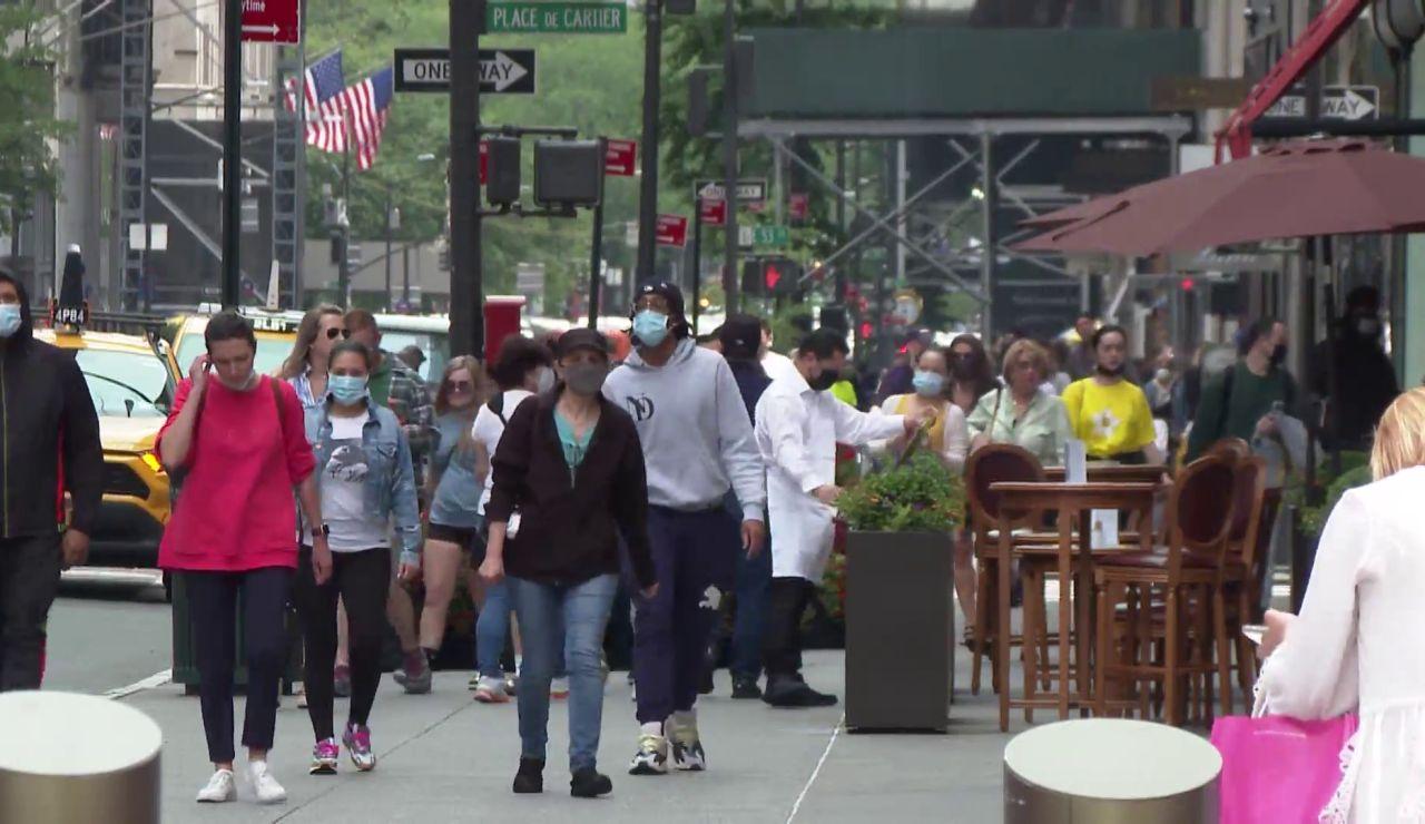 Nueva York se acerca a la normalidad gracias a la vacunación contra el coronavirus