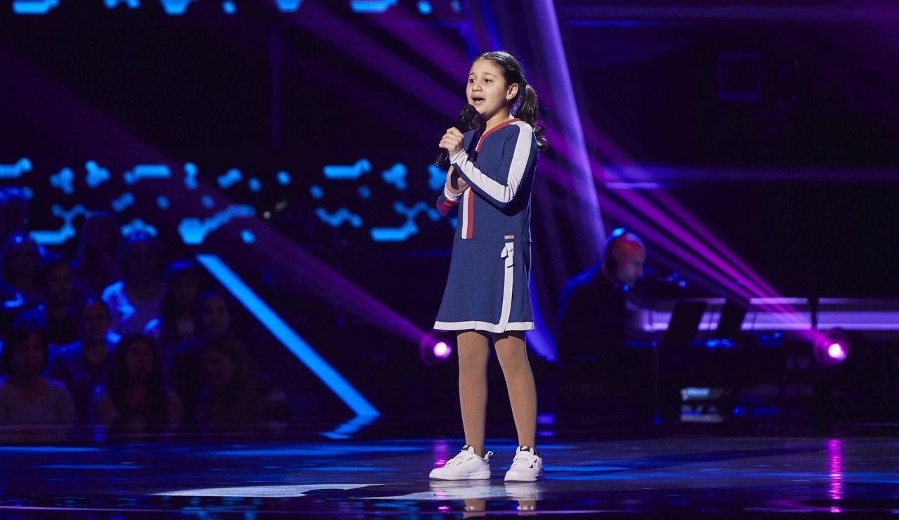 Alina Mamikonyan canta 'Mañana' en las Audiciones a ciegas de 'La Voz Kids'