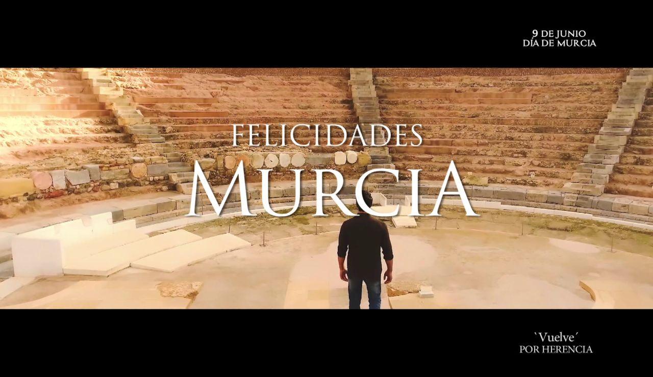 Atresmedia felicita a Murcia por el día de su Comunidad