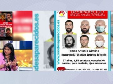 Perfil de Tomás Gimeno.