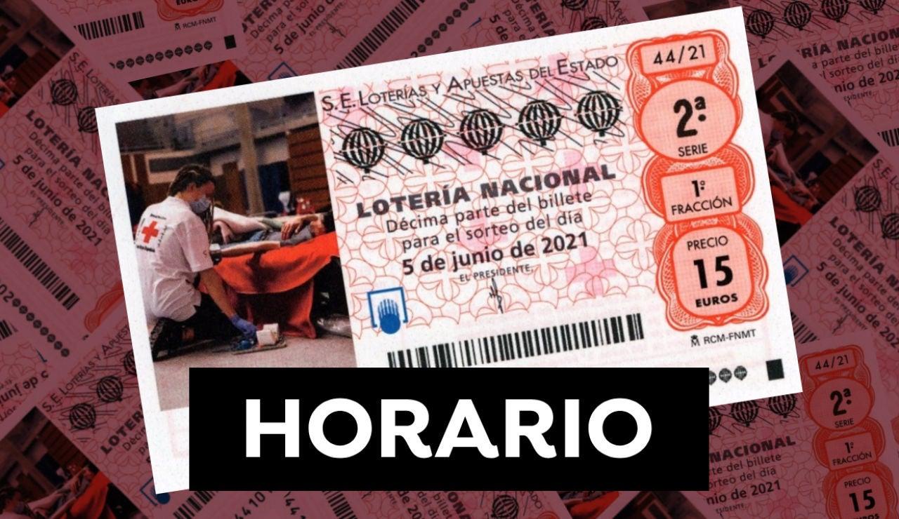Lotería Nacional: Horario y dónde ver el Sorteo Extraordinario de la Cruz Roja 2021 del 5 de junio
