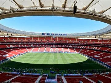 Panorámica del Wanda Metropolitano