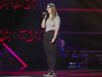 Nuria Humaran canta 'Nana triste' en las Audiciones a ciegas de 'La Voz Kids'