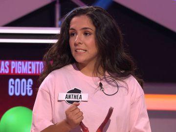 ¡Una campeona de España en el plató! Anthea, de 'Las pigmentos' habla sobre sus trofeos