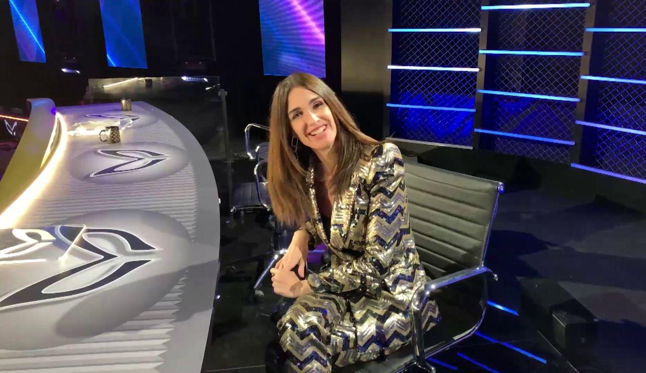 Paz Vega nos enseña todos los entresijos de 'Mask Singer': ¡Así es detrás de las cámaras!