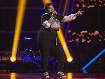 Inés Thandi canta 'Say my name' en las Audiciones a ciegas de 'La Voz Kids'