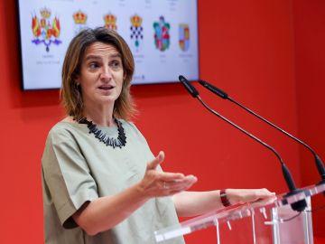 En la imagen, la ministra de Transición Ecológica y Reto Demográfico de España, Teresa Ribera