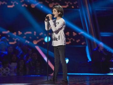 Marcos del Río canta 'Let it be' en las Audiciones a ciegas de 'La Voz Kids'