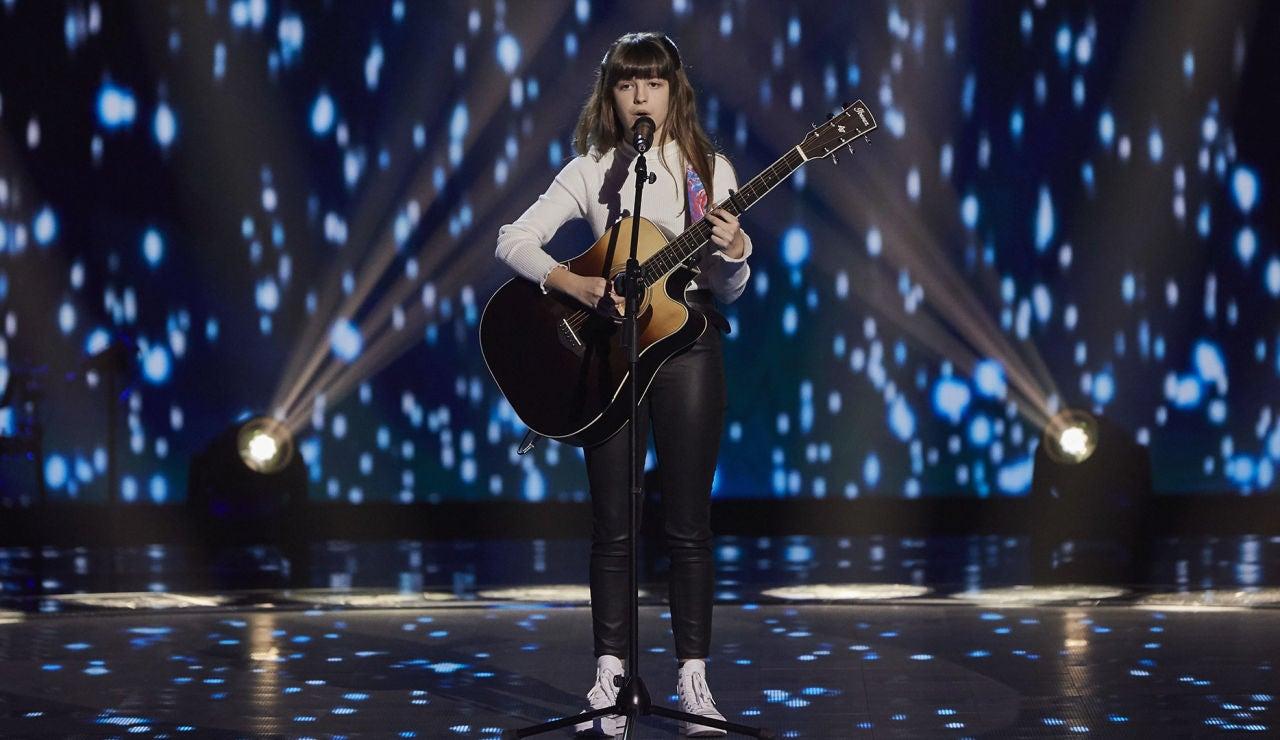 María Baró canta 'Perfect' en las Audiciones a ciegas  de 'La Voz Kids'