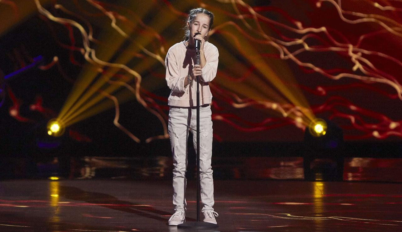 Blanca Valdés canta 'Skinny love' en las Audiciones a ciegas de 'La Voz Kids'