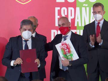 La candidatura de España y Portugal para organizar el Mundial de 2030 ya es oficial