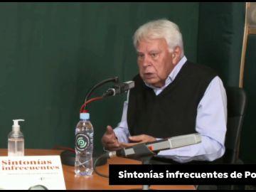 """Felipe González: """"No he dicho que no a los indultos, he dicho que no se dan las condiciones"""""""