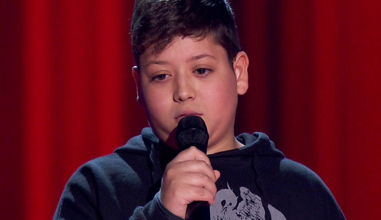Xoel Tarín desata los aplausos con su especial forma de definir la música en 'La Voz Kids'