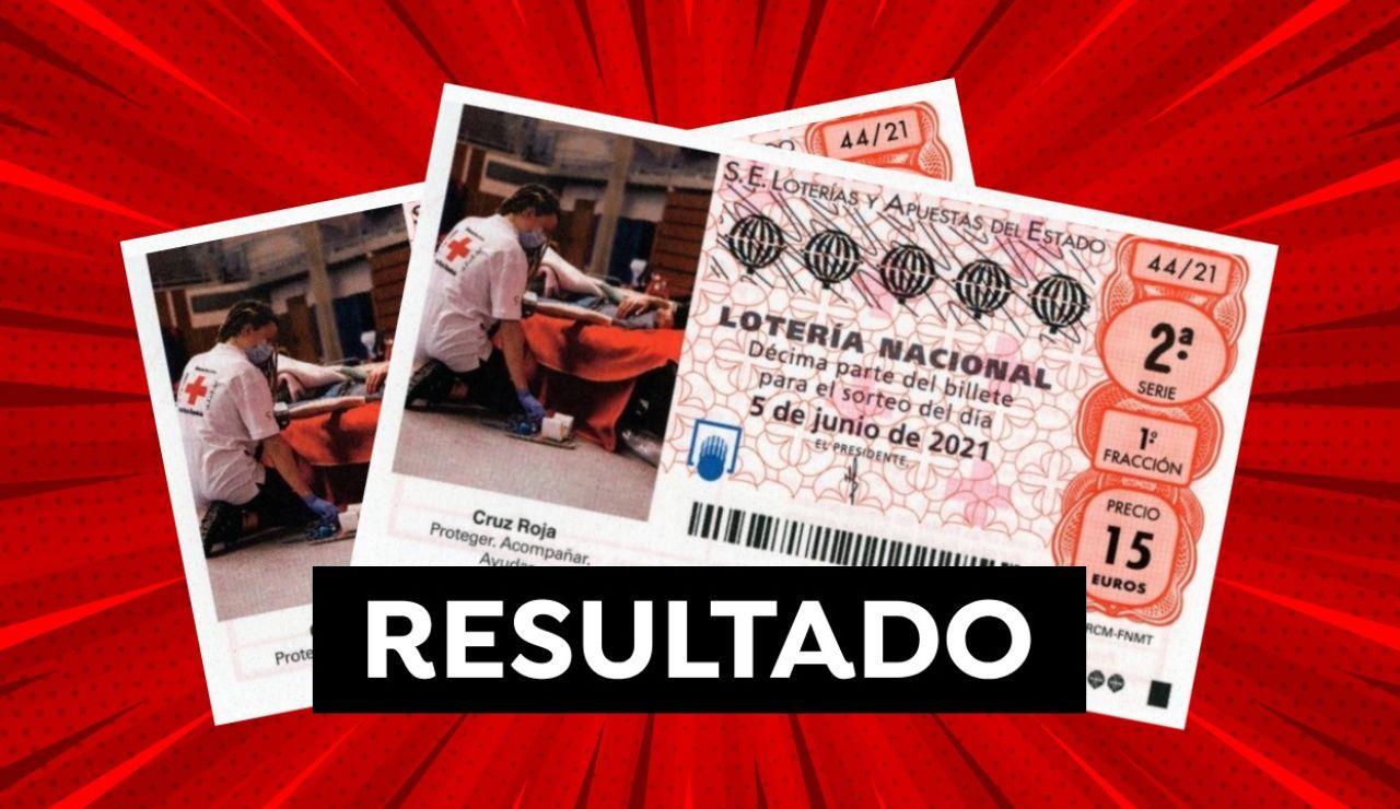 Lotería Nacional: Comprobar resultado del Sorteo Extraordinario de la Cruz Roja hoy 5 de junio
