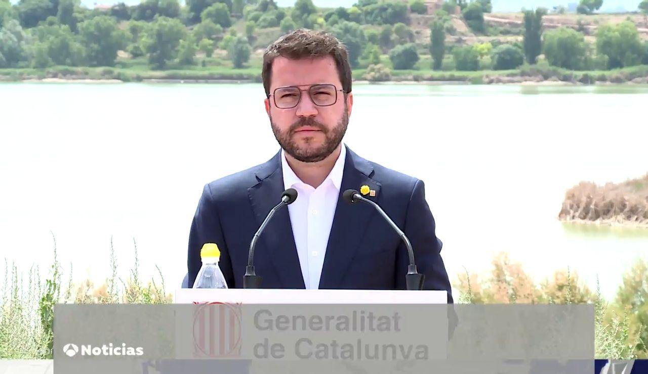 """Pere Aragonès quiere una """"etapa de negociación"""" con el Gobierno e insiste en la amnistía para los presos"""