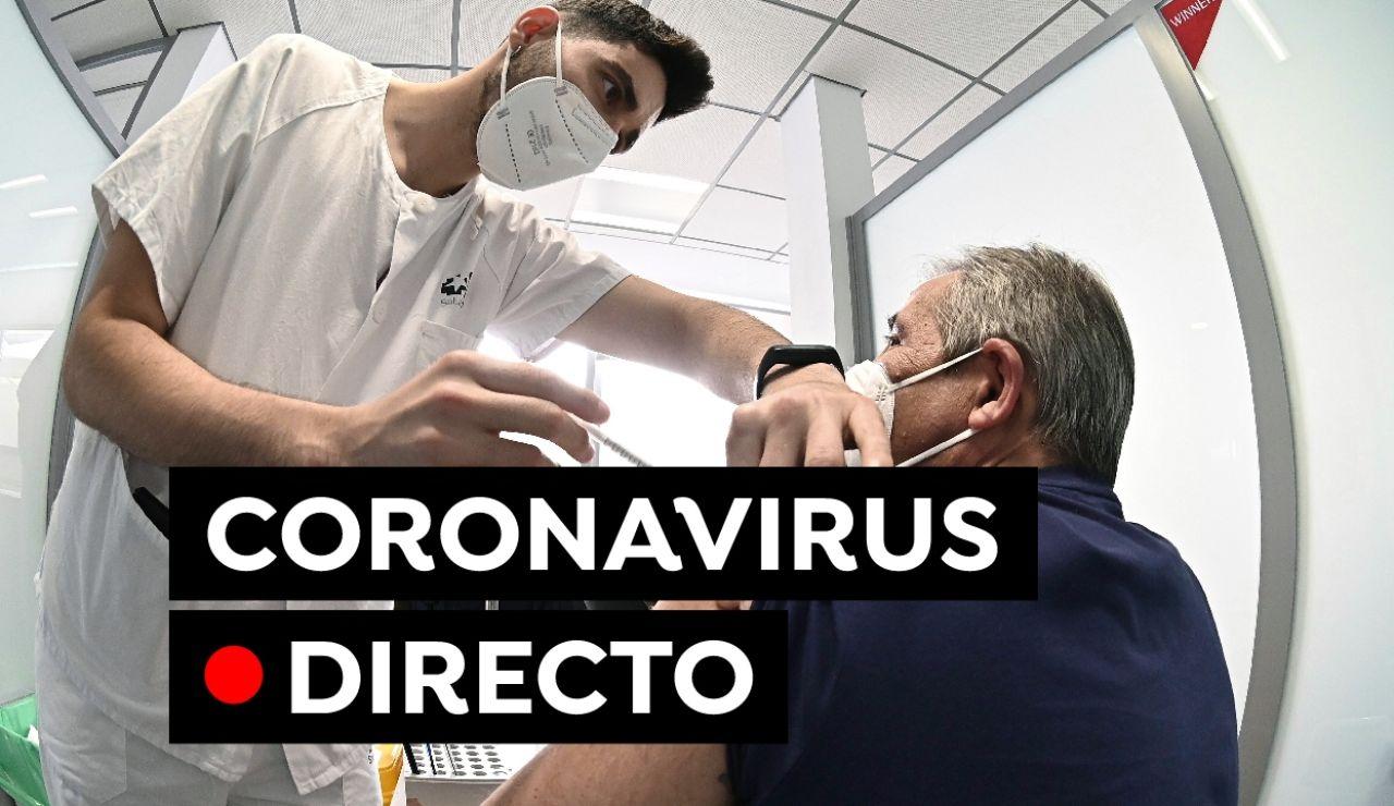 Coronavirus España hoy: Última hora de medidas, restricciones, vacunación y contagios de la COVID-19, en directo