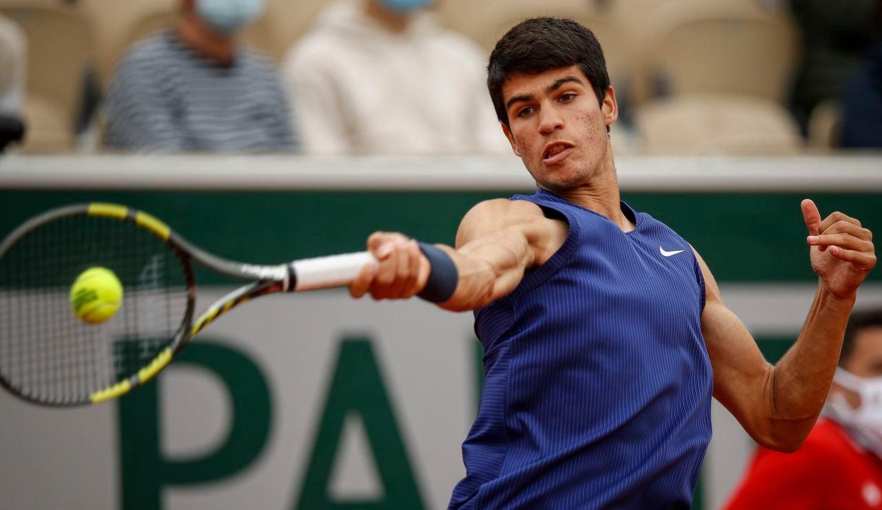 Un gran Struff termina con el sueño de Carlos Alcaraz en Roland Garros