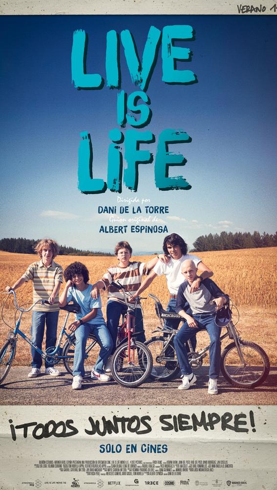 Póster de 'Live is life'
