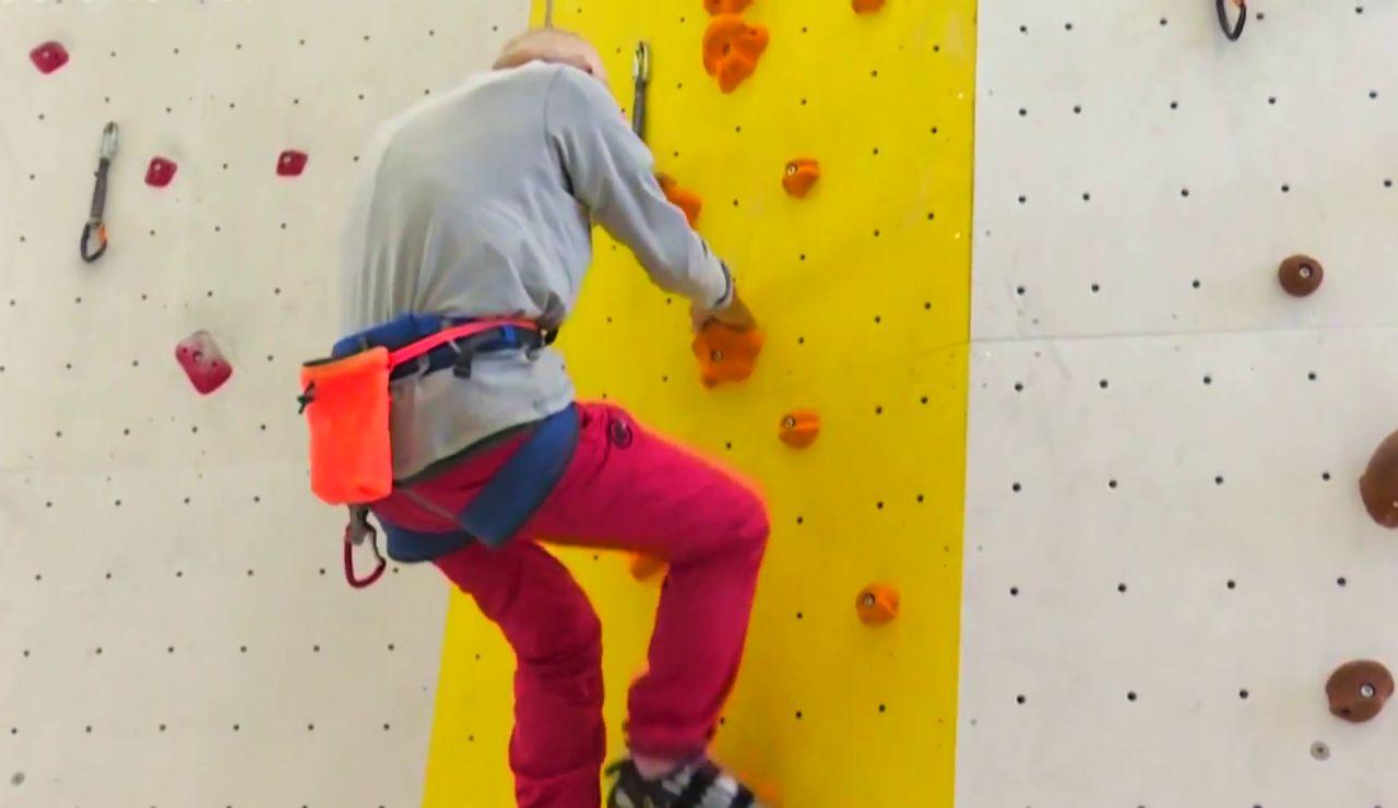 """Marcel Remy, el escalador de 98 años: """"No entiendo a la gente que no se mueve a esta edad"""""""