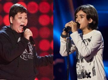 Xoel Tarín y Marcos del Río en 'La Voz Kids'