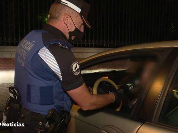Se intensifican los controles de alcoholemia para evitar accidentes de tráfico