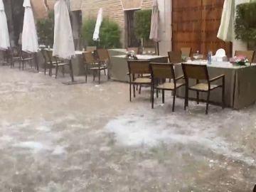 Las fuertes tormentas dejan numerosos incidentes en España durante el fin de semana