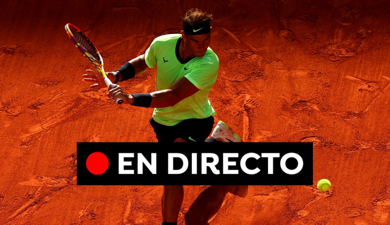 Rafa Nadal - Jannik Sinner, en directo hoy: Roland Garros 2021