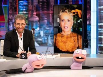 """Sharon Stone confiesa su pálpito con Antonio Banderas: """"Me pareció que iba a ser una superestrella"""""""
