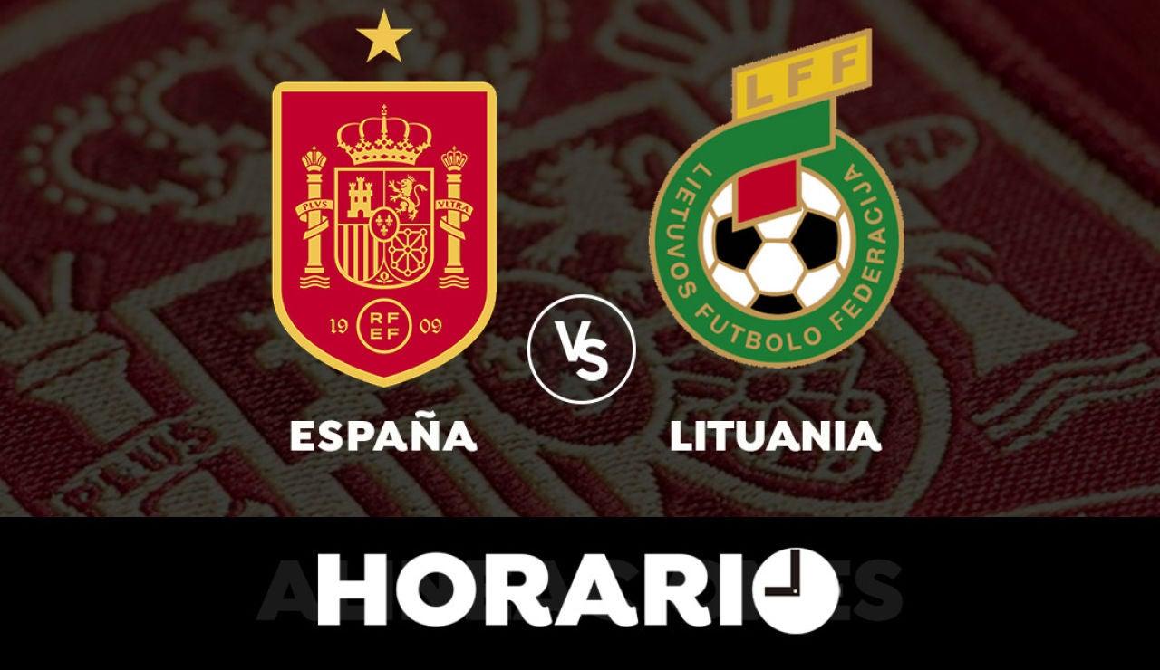 España - Lituania: Horario y dónde ver el partido previo a la Eurocopa 2021