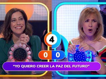 Rocío Martínez celebra con 'Un millón de amigos' su primera victoria en 'Pasapalabra'