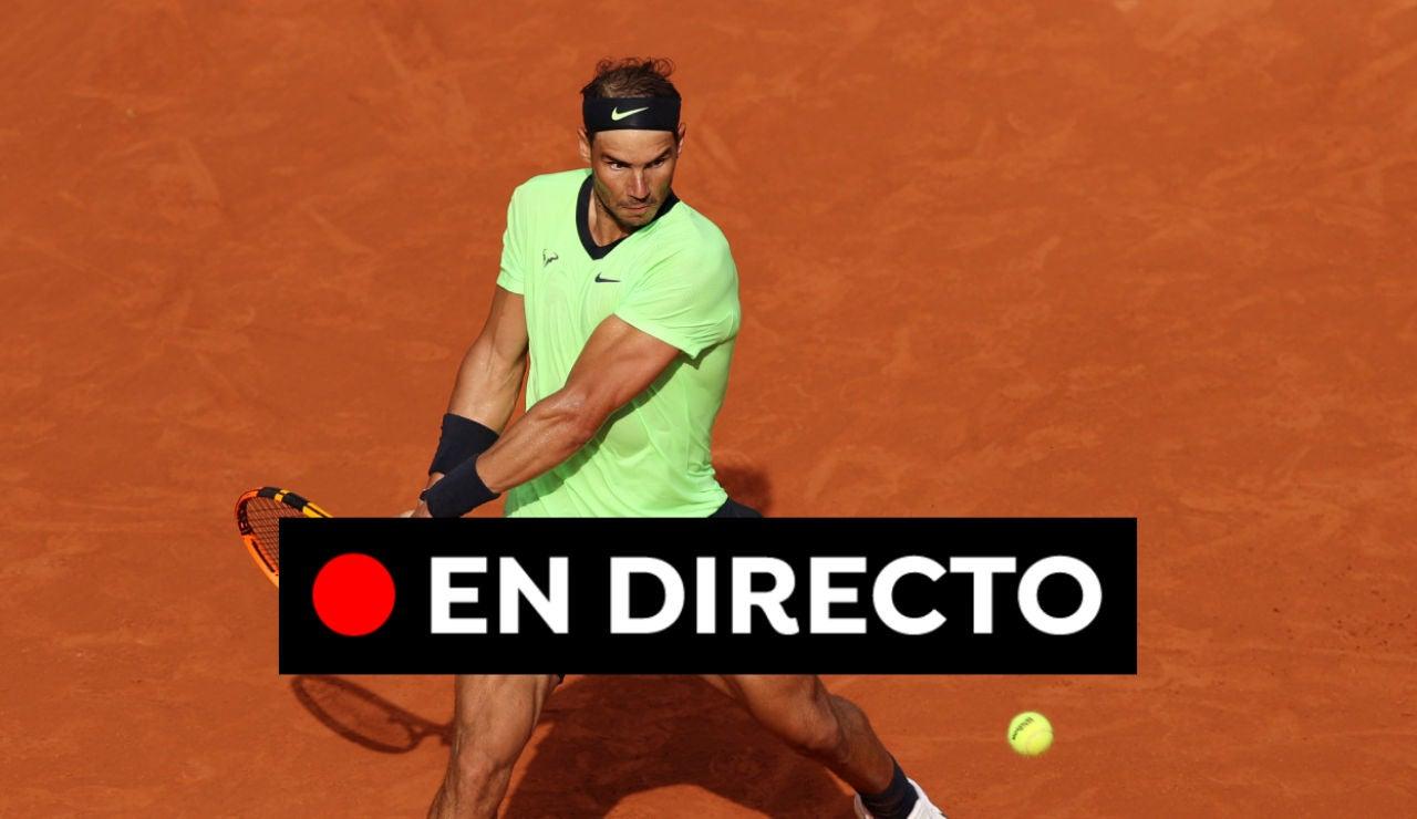 Rafa Nadal - Jannik Sinner: Resultado del partido del Roland Garros hoy, en directo