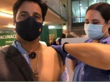 """La original forma de Fran Rivera para anunciar que se ha vacunado: """"Ya estoy herrado"""""""