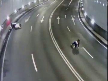 La policía de A Coruña lanza un vídeo de derrapes para concienciar sobre los límites de velocidad