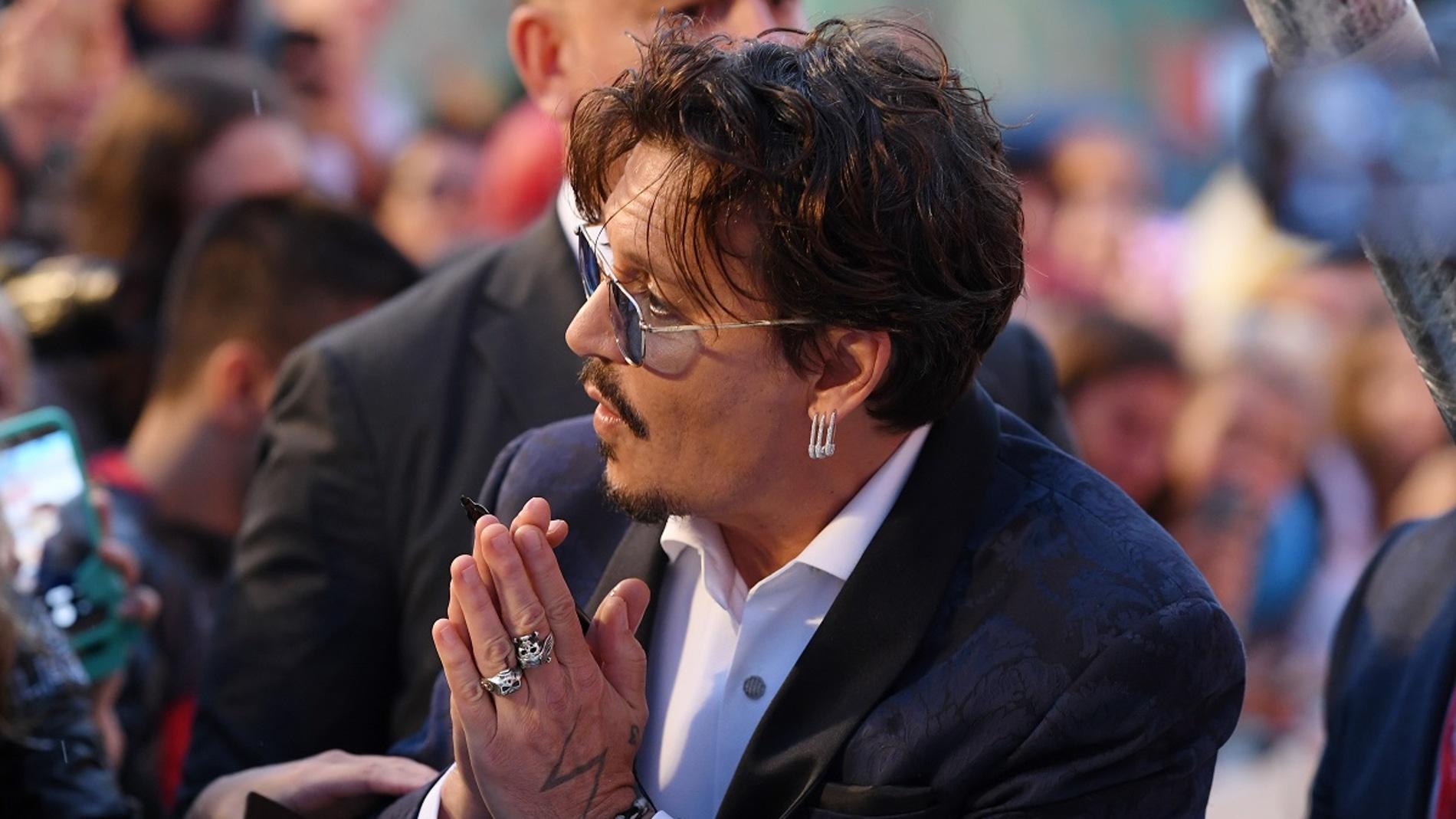 Johnny Depp con sus fans