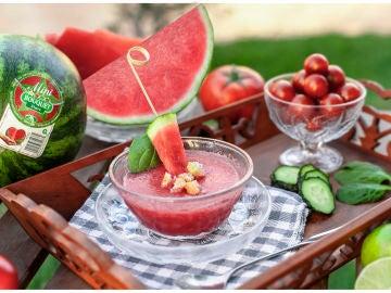 Gazpacho de Sandía Bouquet, dale un toque especial al plato típico
