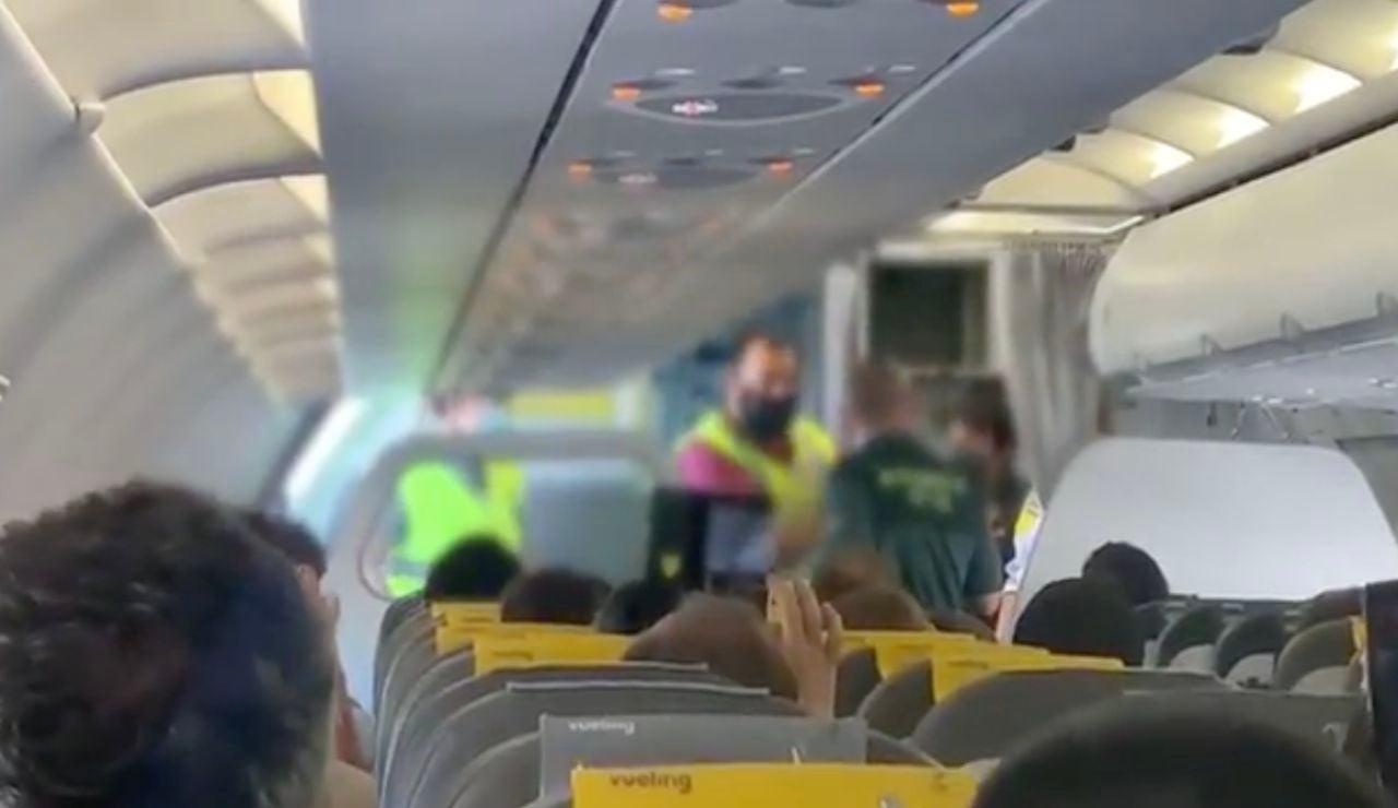 Imágenes tomadas desde el avión Palma-Alicante.