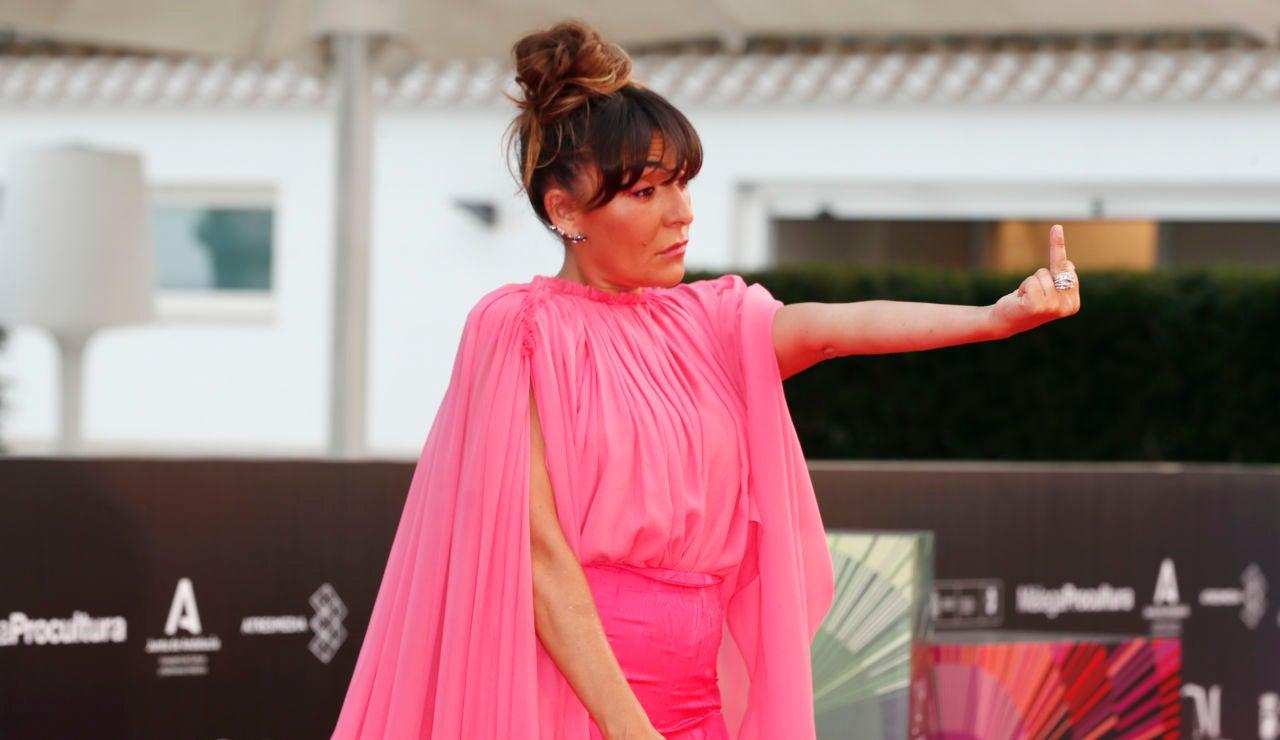 Candela Peña, en el Festival de Málaga