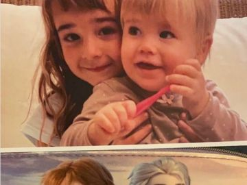 Anna y Olivia comparadas con las hermanas de Frozen