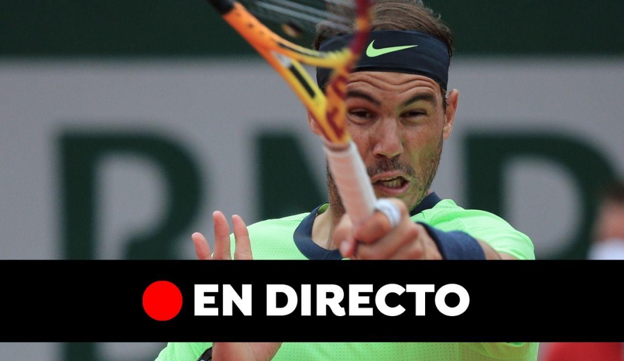Rafa Nadal - Jannik Sinner: Partido de hoy de Roland Garros, en directo