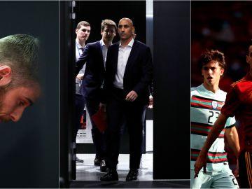 El 'caso Torbe', la destitución de Lopetegui y el positivo de Busquets: los tres inoportunos momentos previos al debut en un gran torneo