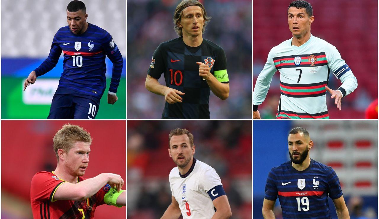 ¿Quién será el mejor jugador de la Eurocopa 2021?