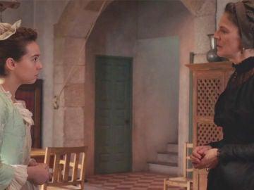 """Úrsula, nerviosa, advierte a Elisa sobre Elías: """"Ten cuidado, es peligroso"""""""