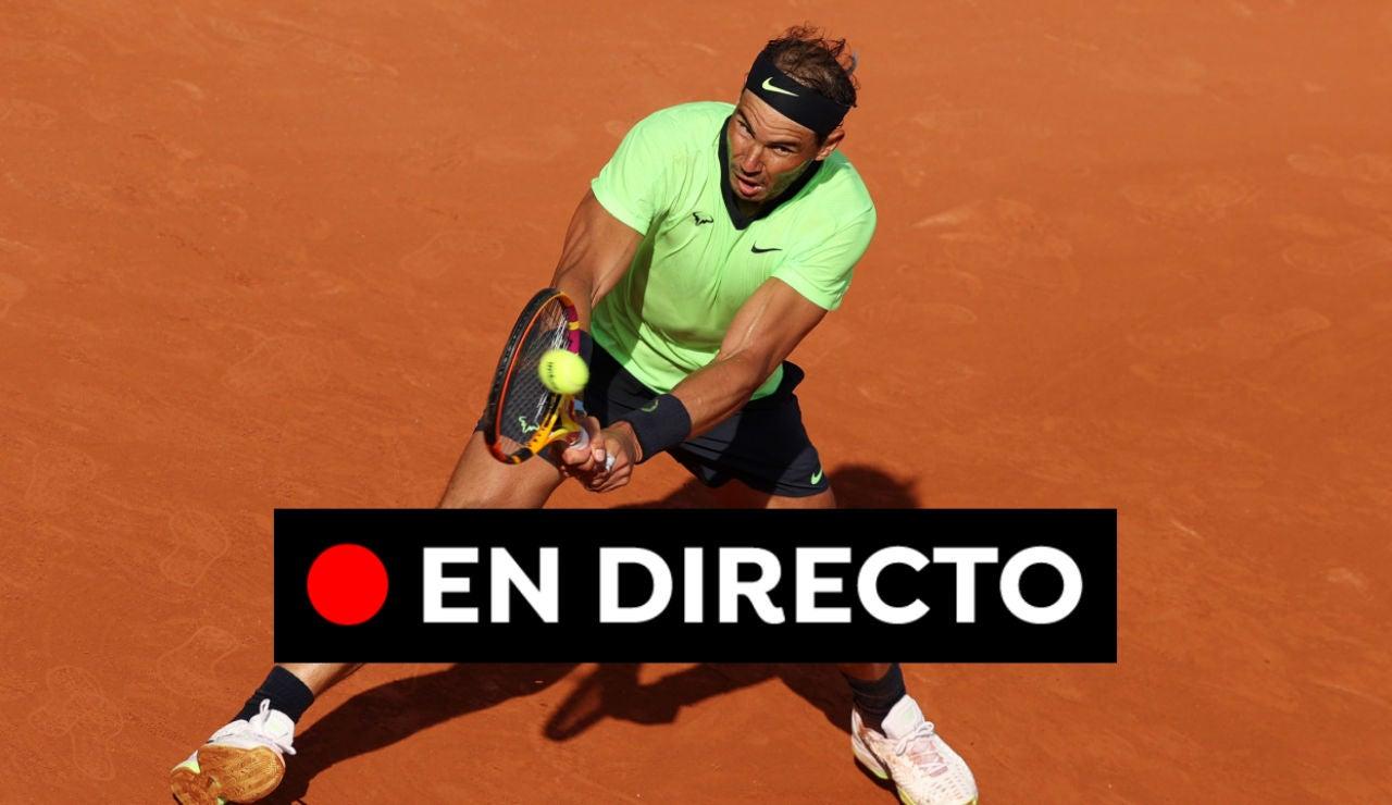 Rafa Nadal - Jannik Sinner: Partido del Roland Garros 2021, en directo